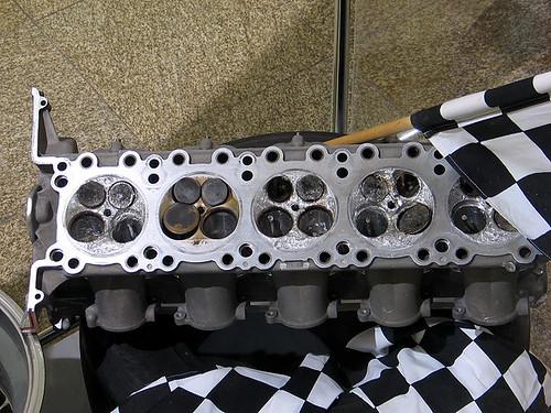 Ferrari Exploded Engine