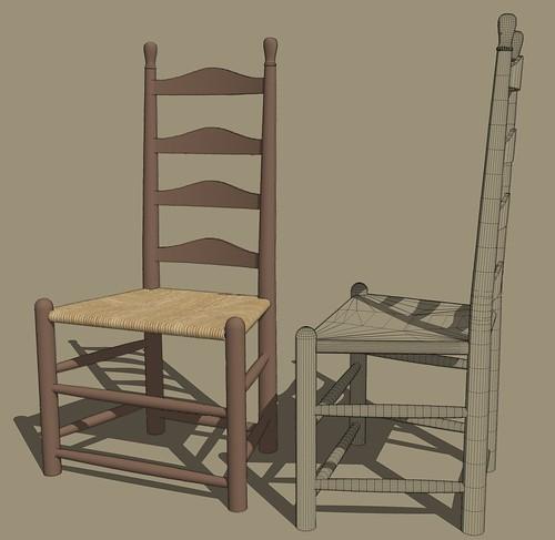 Ladder Back 3Degree