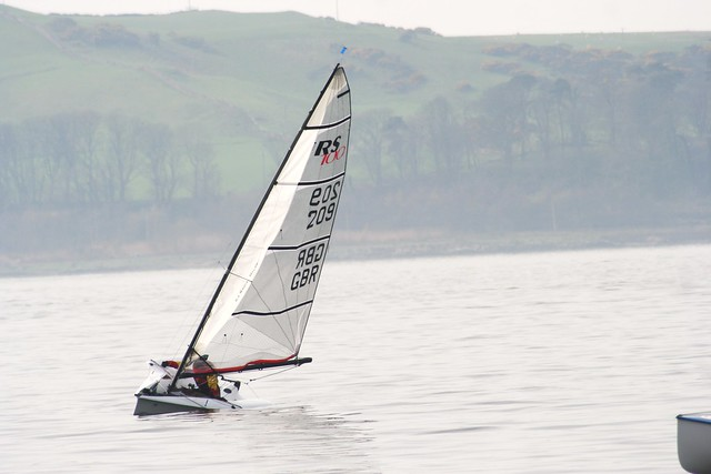 Sailing off Largs, Firth of Clyde, Scotland