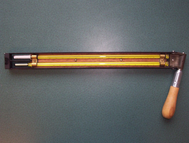 Header of psychrometer