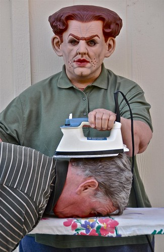 My Tuesday Appointment at Roscoe's Face Down Hair Ironing Emporium