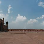 Badshahi Masjid courtyard