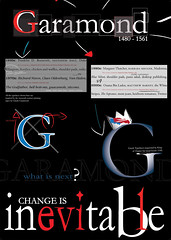 A3 Poster Design - Garamond