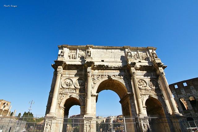 羅馬 君士坦丁凱旋門