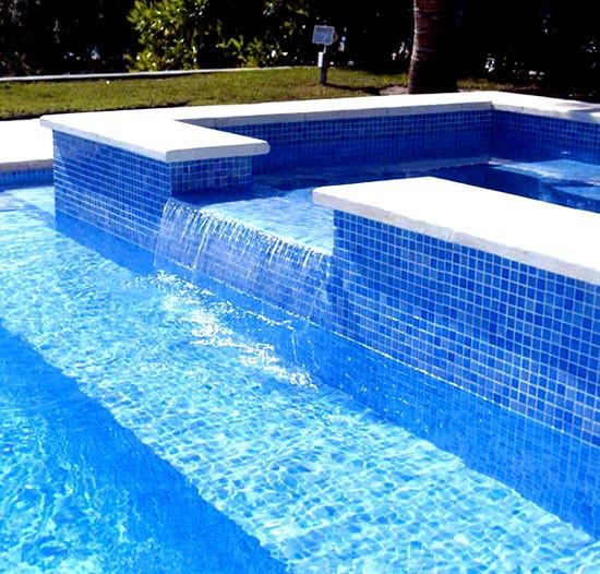 Pastilhas de vidro para revestimentos de piscina flickr - Fotos de piscina ...