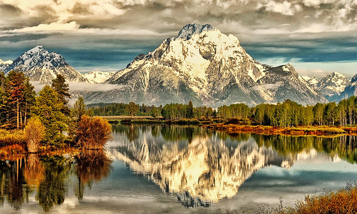 Oxbow Bend Clouds