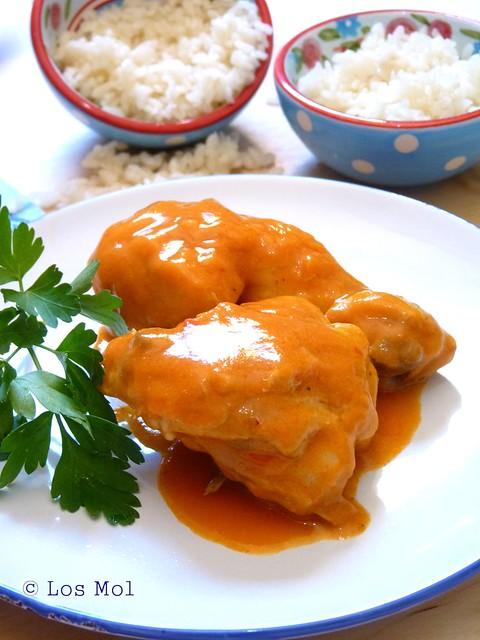Cocina sabrosa de la srta mol pollo a la cerveza thermomix - Canal cocina thermomix ...