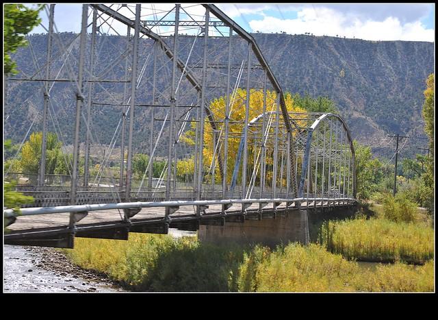 Colorado River Bridge Rifle Colorado Flickr Photo
