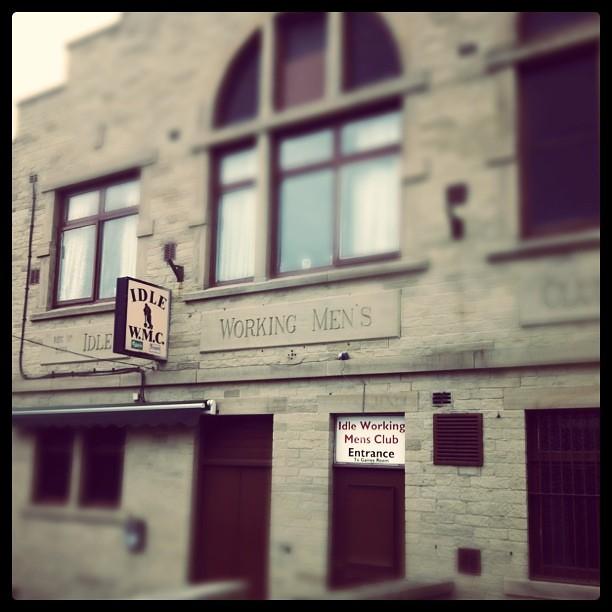 In Idle West Yorkshire: 116/i365 - Idle Working Men's Club, Bradford
