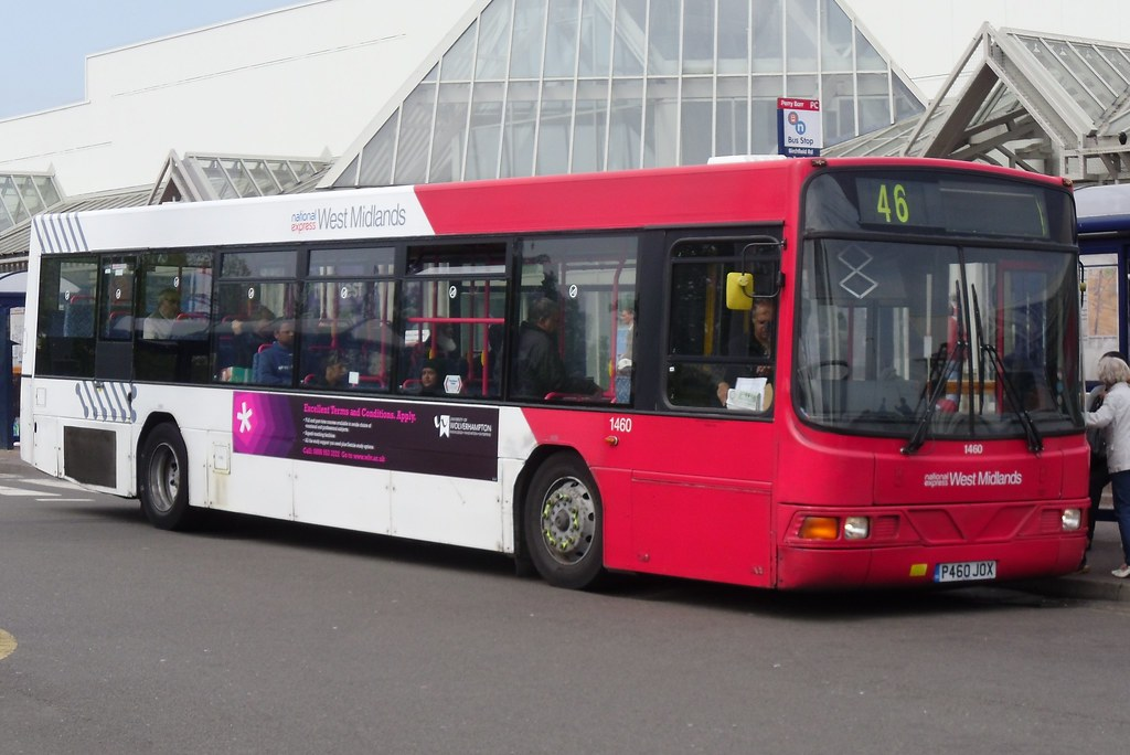 National Express West Midlands Volvo B10L/Wright Liberator 1460 (P460 JOX) (Perry Barr)