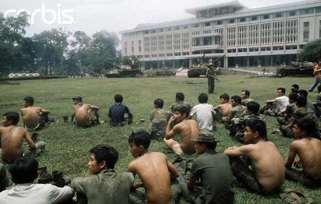 The end of the Vietnamese civil war: the South lost, the North won