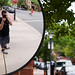 Self Portrait in a Convex Mirror by Eric Spiegel
