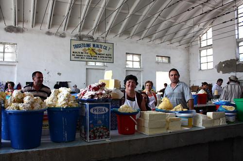 Mercado de Korçë, Albania