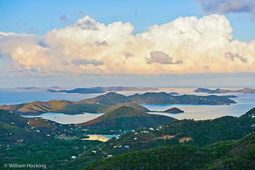 sky usa stjohn locations sunsetsunrise coralbay usvirginislands bordeauxmountain sceniclandscape