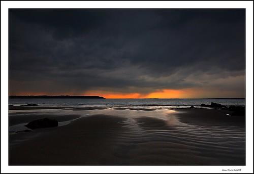 sea sky sun mer beach nature canon landscape soleil brittany breizh ciel nuages plage bzh grandangle sigme 450d presquîledecrozon seascope jmfaure crozgat29