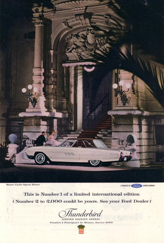 1963 Ford Thunderbird Limited Edition Landau Ad - USA by Five Starr Photos ( Aussiefordadverts)