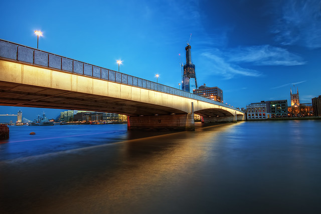 Twilight by London Bridge