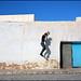 Wall. Kairouan, Tunisia by Maciej Dakowicz