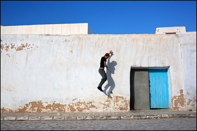 Wall. Kairouan, Tunisia - Minimalism in Street Photography