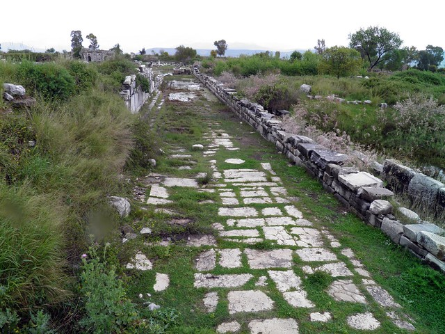 Ancient Street, Miletus