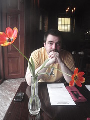 Ray and Tulips