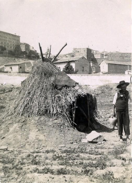 Huerta de San Pablo del Granadal en junio de 1905. Fotógrafo anónimo. Colección Luis Alba. Ayuntamiento de Toledo