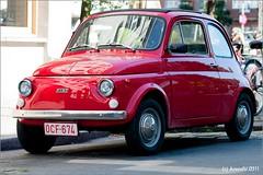 automobile, fiat, fiat 500, vehicle, city car, fiat 500, antique car, land vehicle,