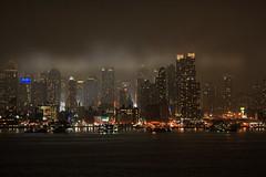 New York City - Nacht über Manhattan