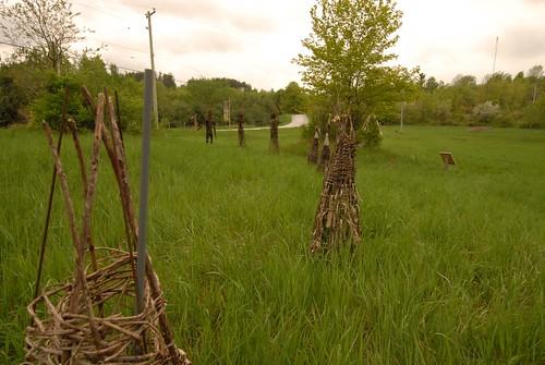 sculpture ontario canada art nikon brooke installation fieldwork lanarkcounty jenniferryderjones