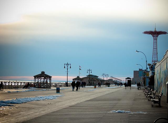 Coney Island - boardwalk