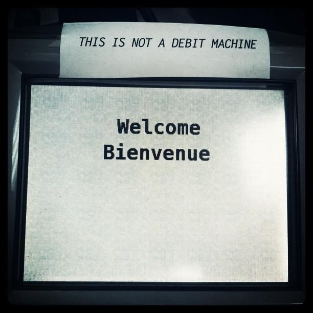 square debit machine