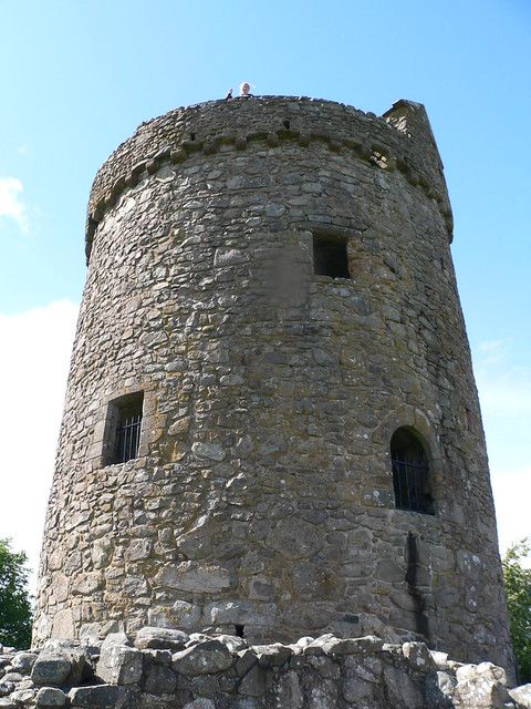 People atop Orchardton Tower