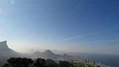 Trails Over Rio de Janeiro