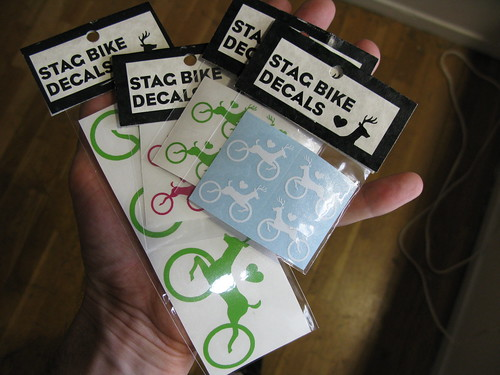Stag Bike Decals