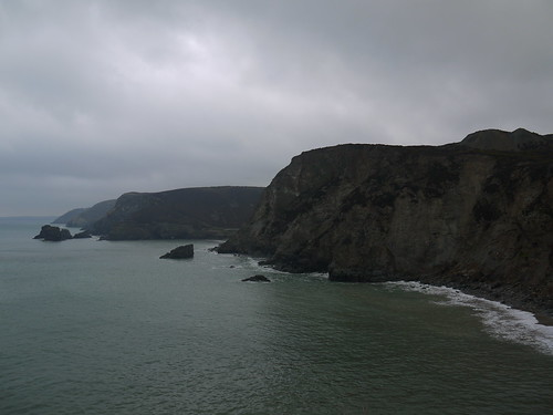 SWC Coast Path at its most dramatic