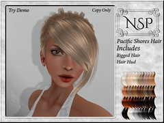 NSP Pacific Shores Hair - Naturals Loaded