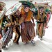 Danzantes - Fiesta del pueblo - Joyabaj, El Quiché, Guatemala