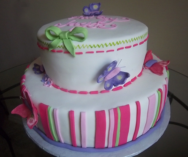 butterfly baby shower cake flickr photo sharing