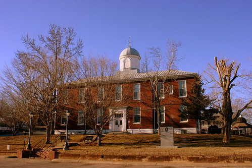 Dickson Co. Courthouse (alt view) - Charlotte, TN