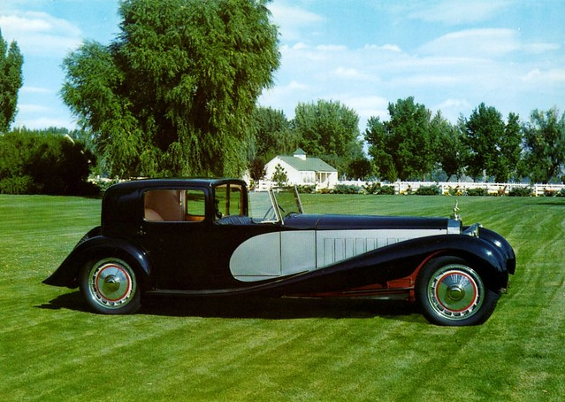 1931 Bugatti Royale Coupe de Ville, Body by Binder