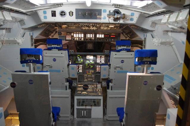 space shuttle interior tour - photo #5