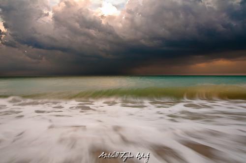 storm beach clouds landscape nikon florida stormyskies d90