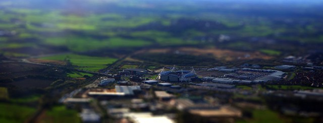 Reebok Stadium, tilt-shift