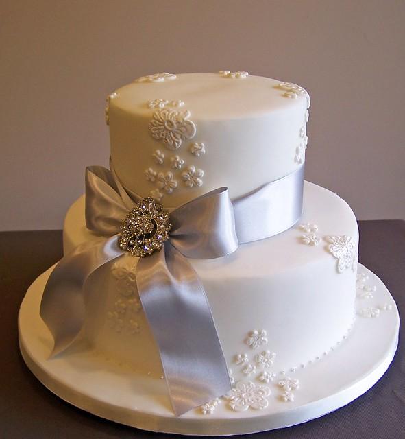 Telas blog Cake made to celebrate a couple 39s 25th wedding