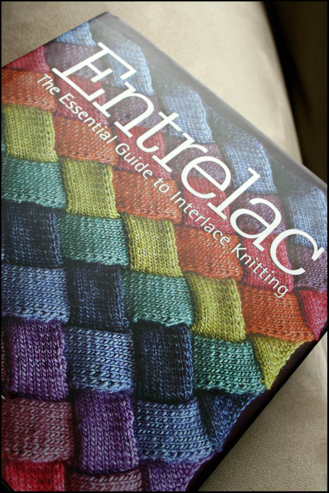 Knitting Books : Week book review entrelac — never not knitting