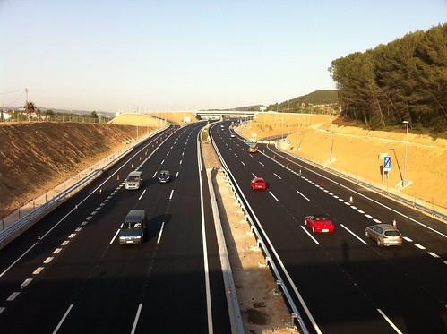 L'enllaç sud de l'Autopista a Gelida, a punt!
