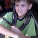 <p>Birthday party with snakes.</p>