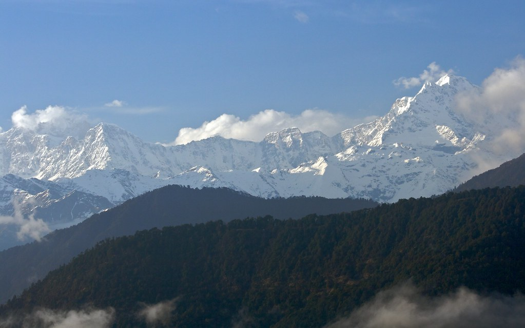 Mandani Peak from Chopta