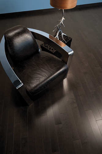 Maple Graphite [leather chair]