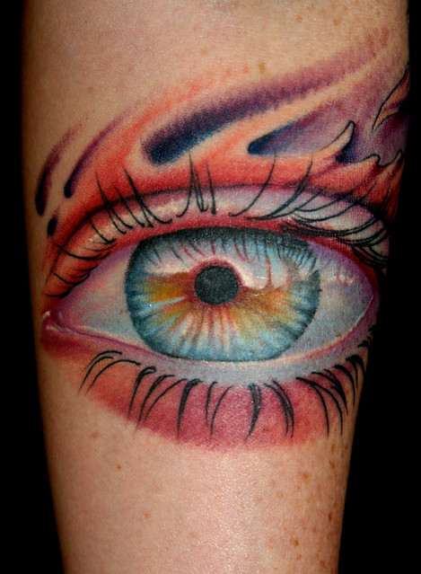 wendys realistic eye tattoo damien lugo southern son tattoo flickr photo sharing. Black Bedroom Furniture Sets. Home Design Ideas